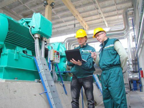 15501883 - industrial workers, teamwork