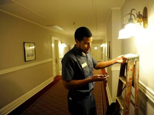 hotel mantenimiento